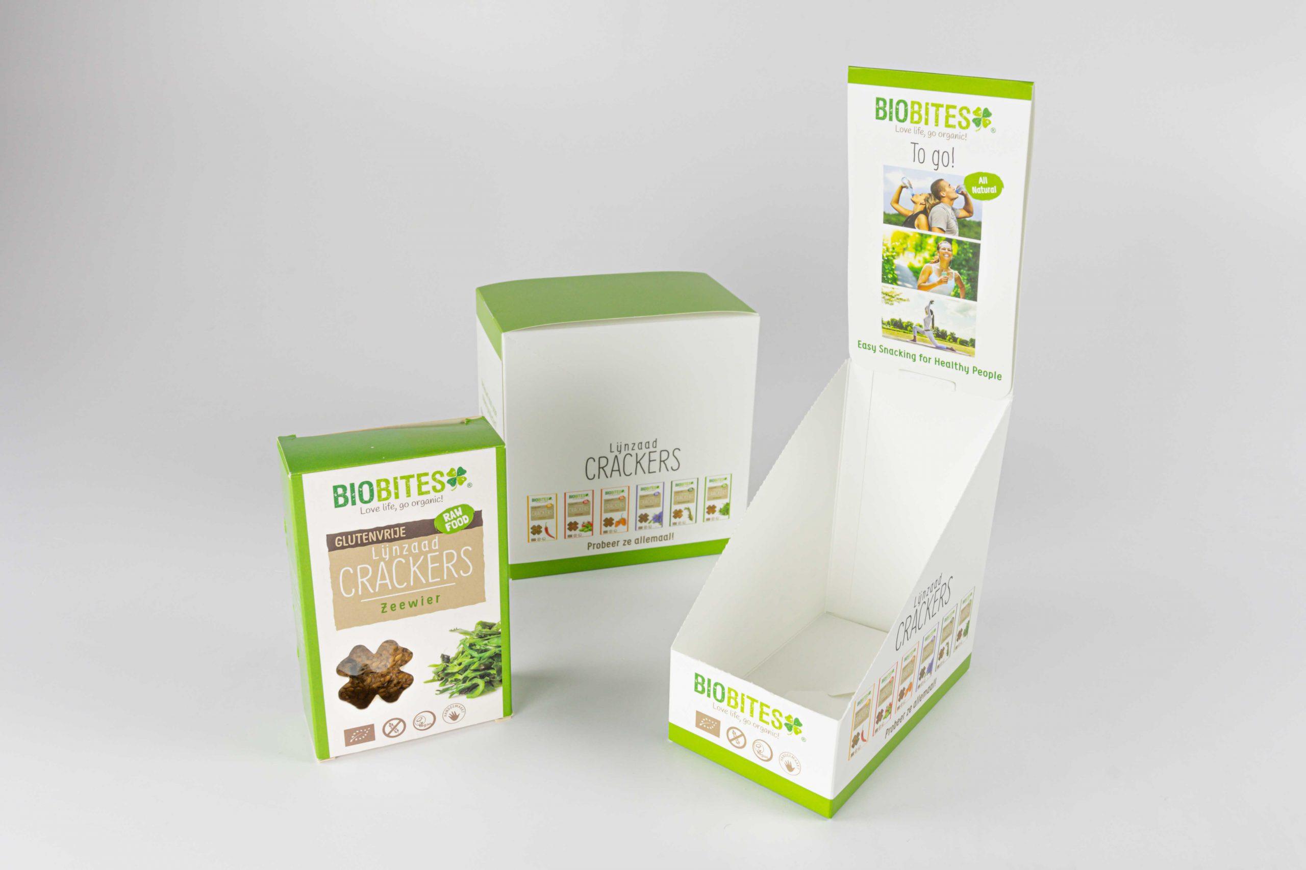 Biobites verpakking