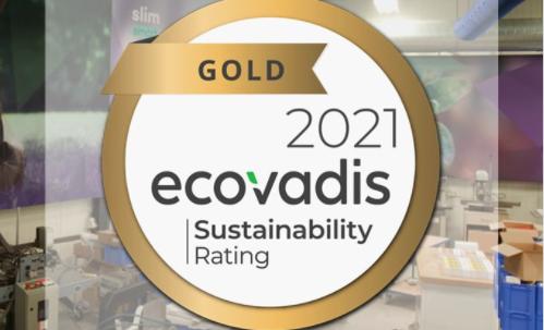 Duurzaamheid Andi Ecovadis Gold